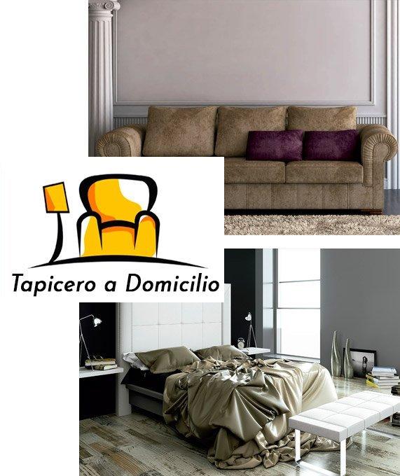Tapicero a domicilio. Modificación de muebles en Madrid
