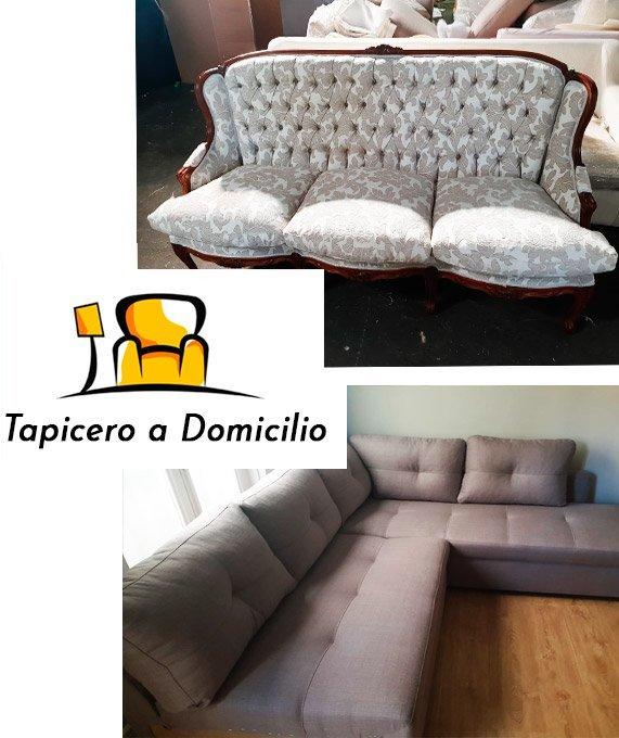 Tapicero a domicilio en Arganda del Rey ☎ 910 374 410 . Tapicería de sillones, butacas y orejeros