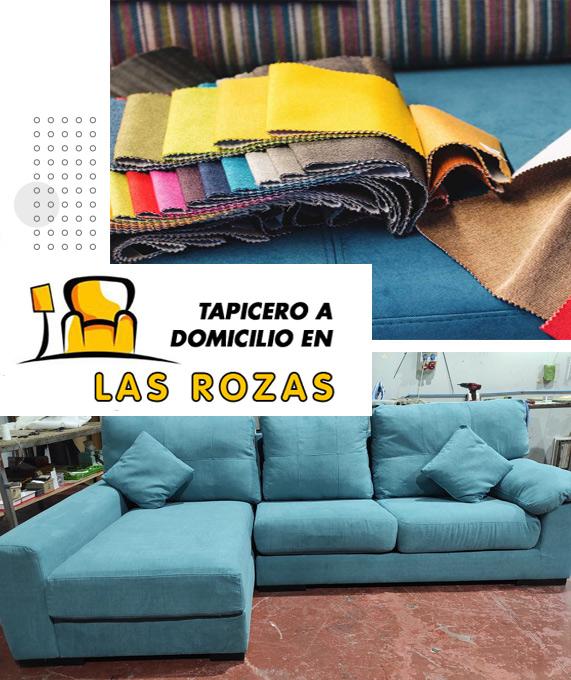 Tapicero a domicilio en Las Rozas ☎ 910 374 410 . Tapicería de sillones, butacas y orejeros